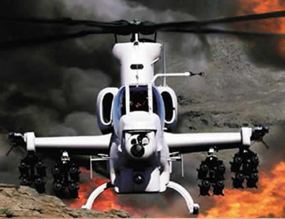 Bell AH-1Z in action