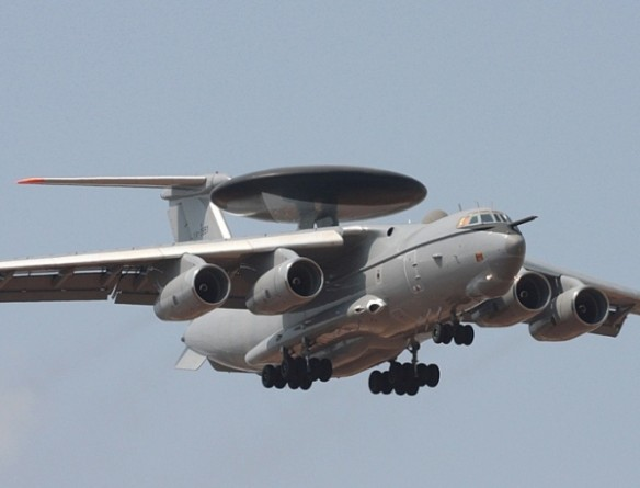 first Il-76 AWACS arrives India