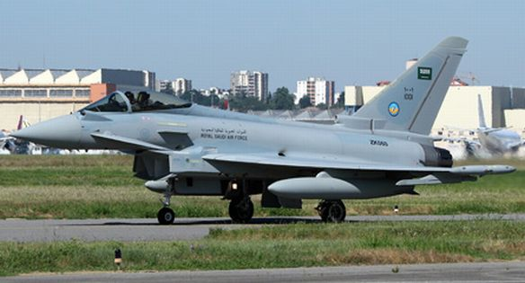 Eurofighter Typhoon Szaúd-Arábia