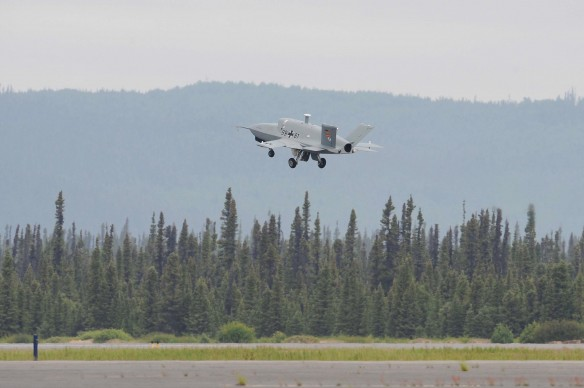 EADS Barracuda 2nd prototype's first flight