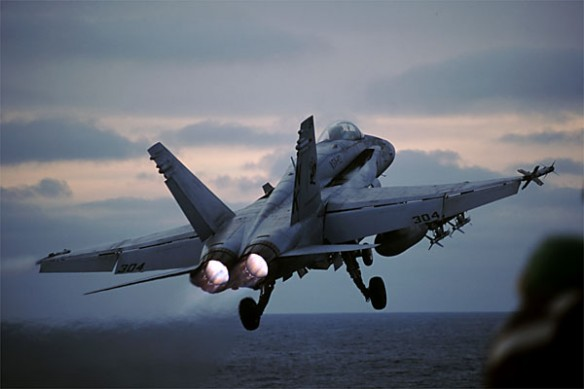 F/A-18 Hornet take off