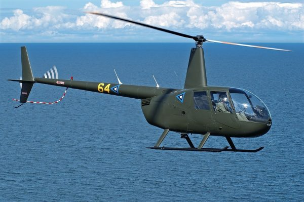 Estonian Air Force's Robinson R-44