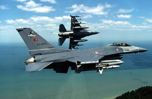 F-16 Turkish Armed Force