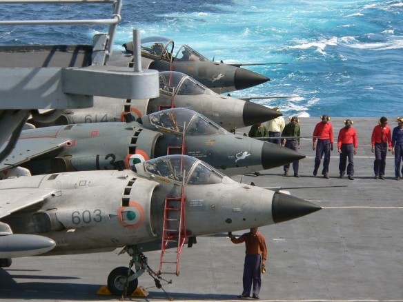 Indian Navy's Harriers