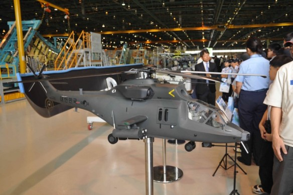 South Korean new attack helicopter