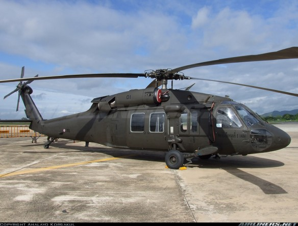 Thai S-70A-43 Black hawk
