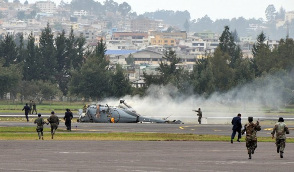 Dhruv crash in Ecuador