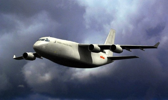 New airlifter from China