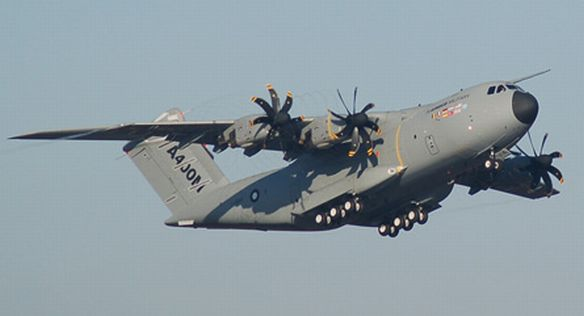 A400M first flight