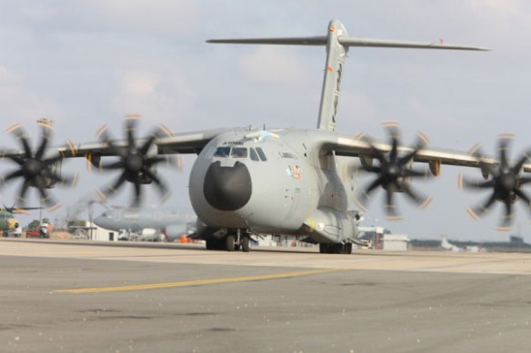 A400M taxing