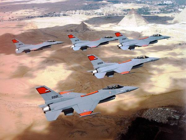 Egyptian Air Force F-16s