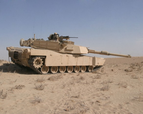 M1A1 Abrams in Iraq