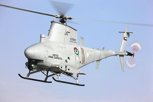 MQ-8B Fire Scout   Forrás: defence-update.net