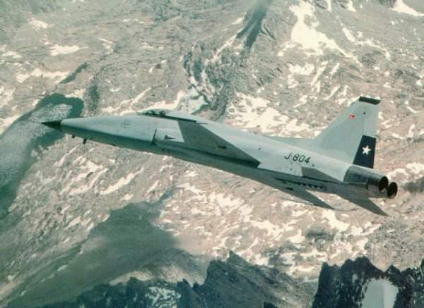 Chilean Air Force Northrop F-5E