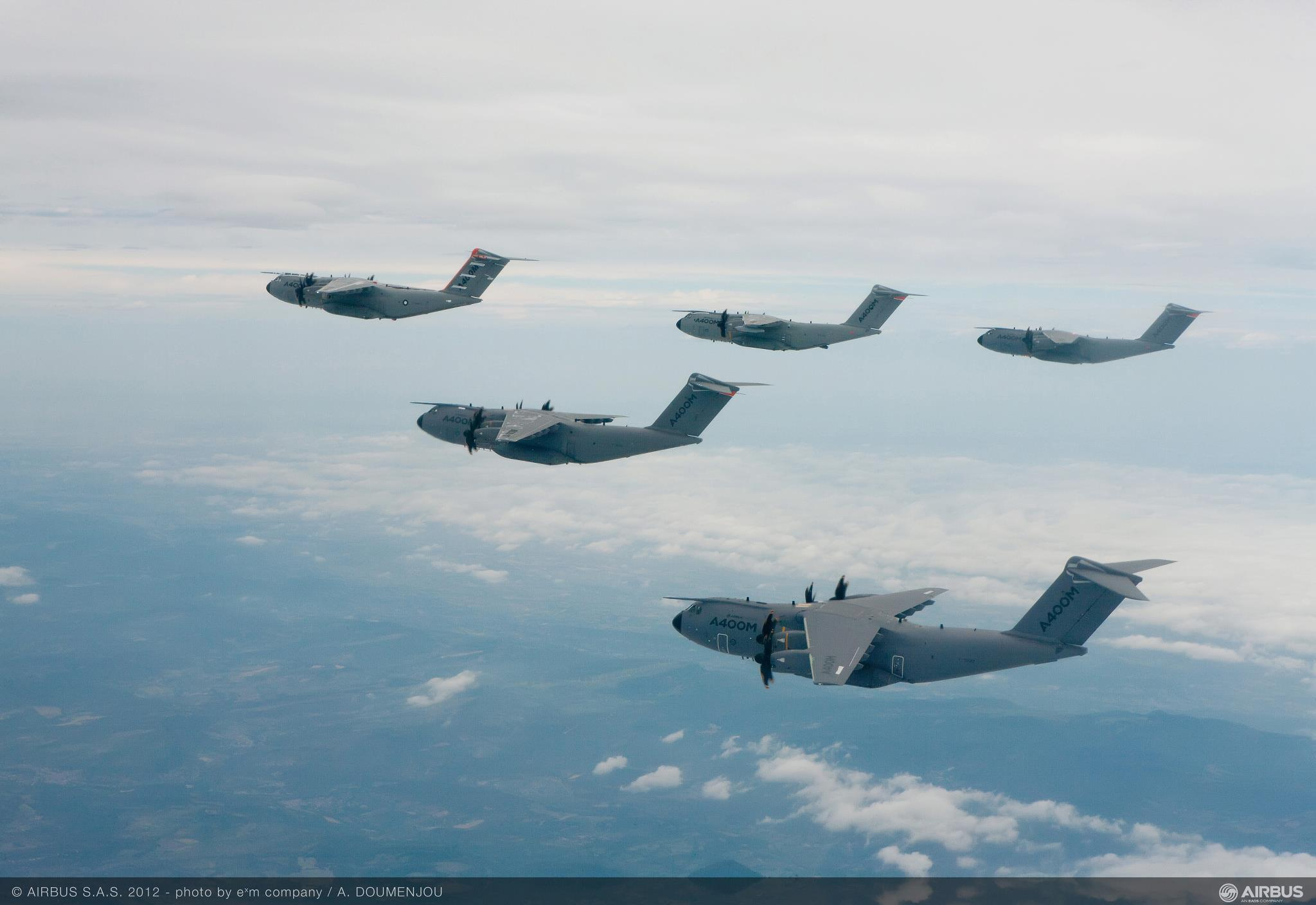 A400M formation