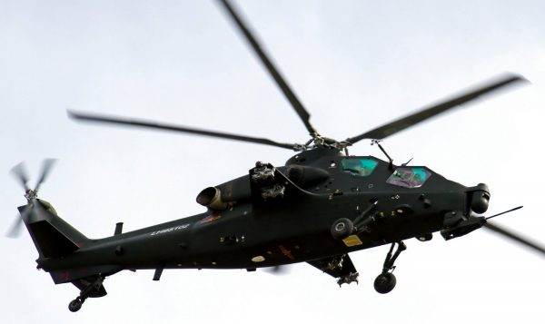 Chinese  Z-10 Attack Helicopter  gunship PLA PLAAF