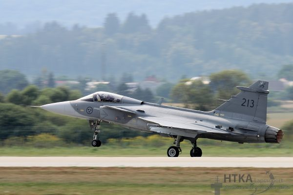JAS-39 Gripen - Swedish Air Force
