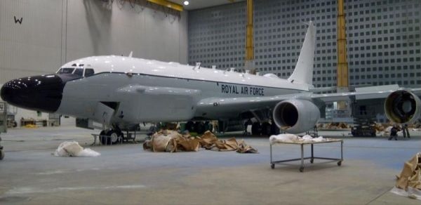 Első brit RC-135 Rivet Joint | Fotó: aviationweek.com