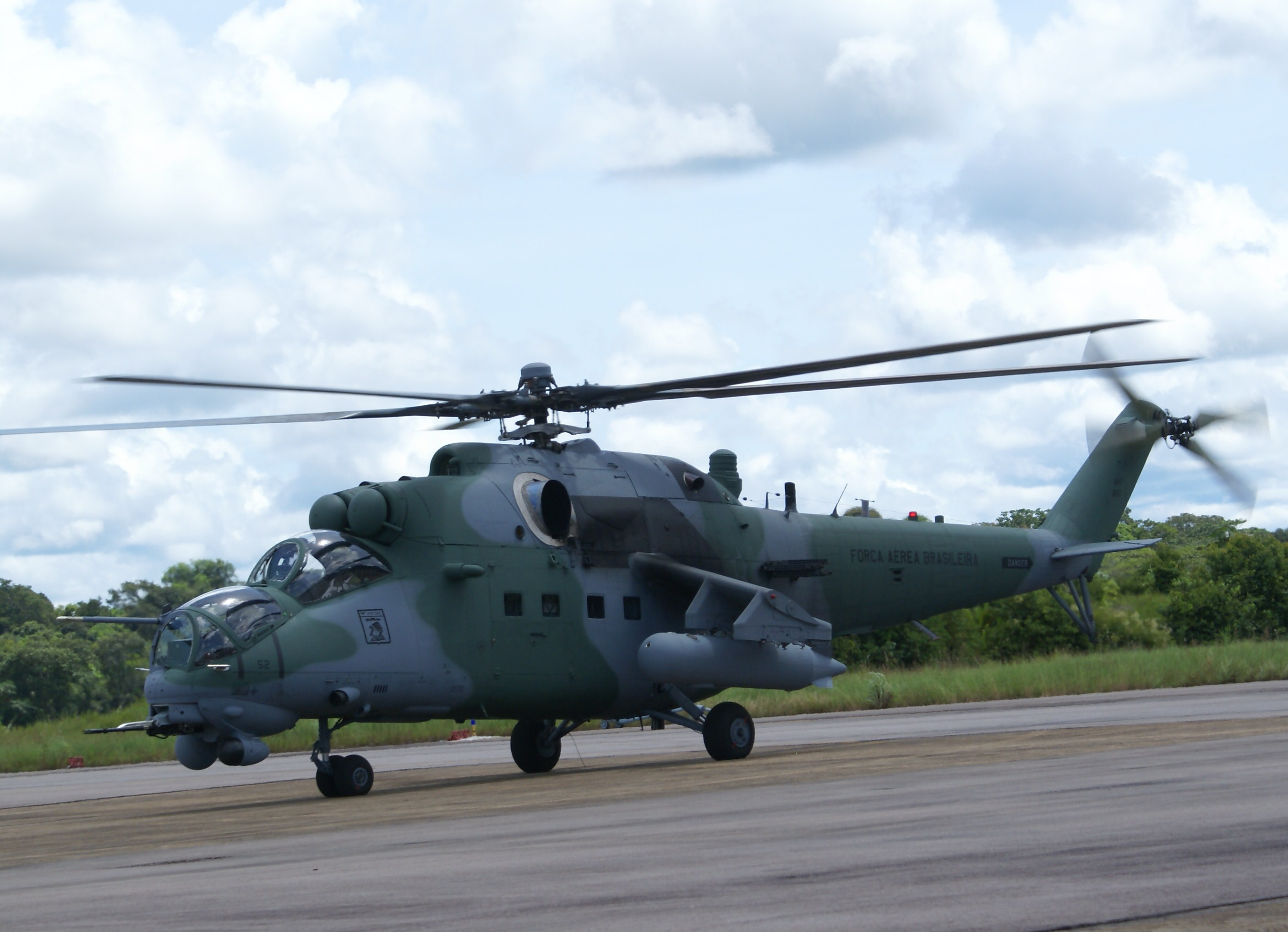 Brazil Mi-35   Forrás: russianhelicopters.aero