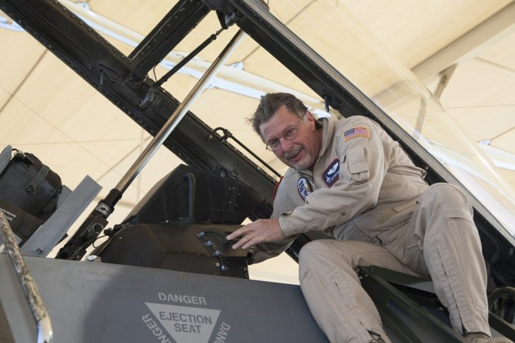 Tom Reynolds | Fotó: Chad Bellay/Lockheed Martin